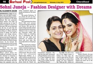 Sohni Juneja: A Well-Known Professional Makeup Artist From Dehradun