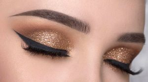 mettalic-eye-makeup